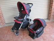 baby pram and capsual travel set for sale on the central coast