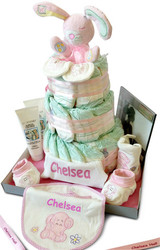 Unique Personalised Nappy Cakes for Baby Shower