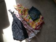 Girls summer dresses and denim skirt