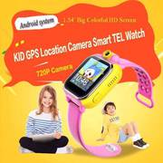 WiFi 2G 3G Children Kids GPS Tracking Smart Watch