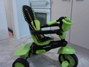 Smart Trike green and black with handle