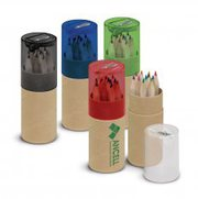 Coloured Pencil Tube   Personalised Colour Pencil   Vivid Promotions A