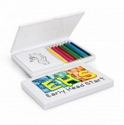 Imprinted Playtime Colouring Set at Vivid Promotions Australia